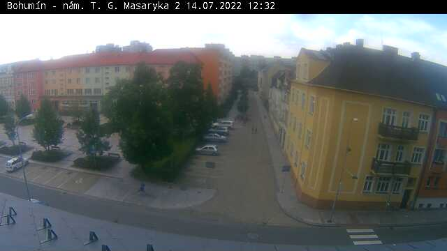 Webová kamera Náměstí T. G. Masaryka